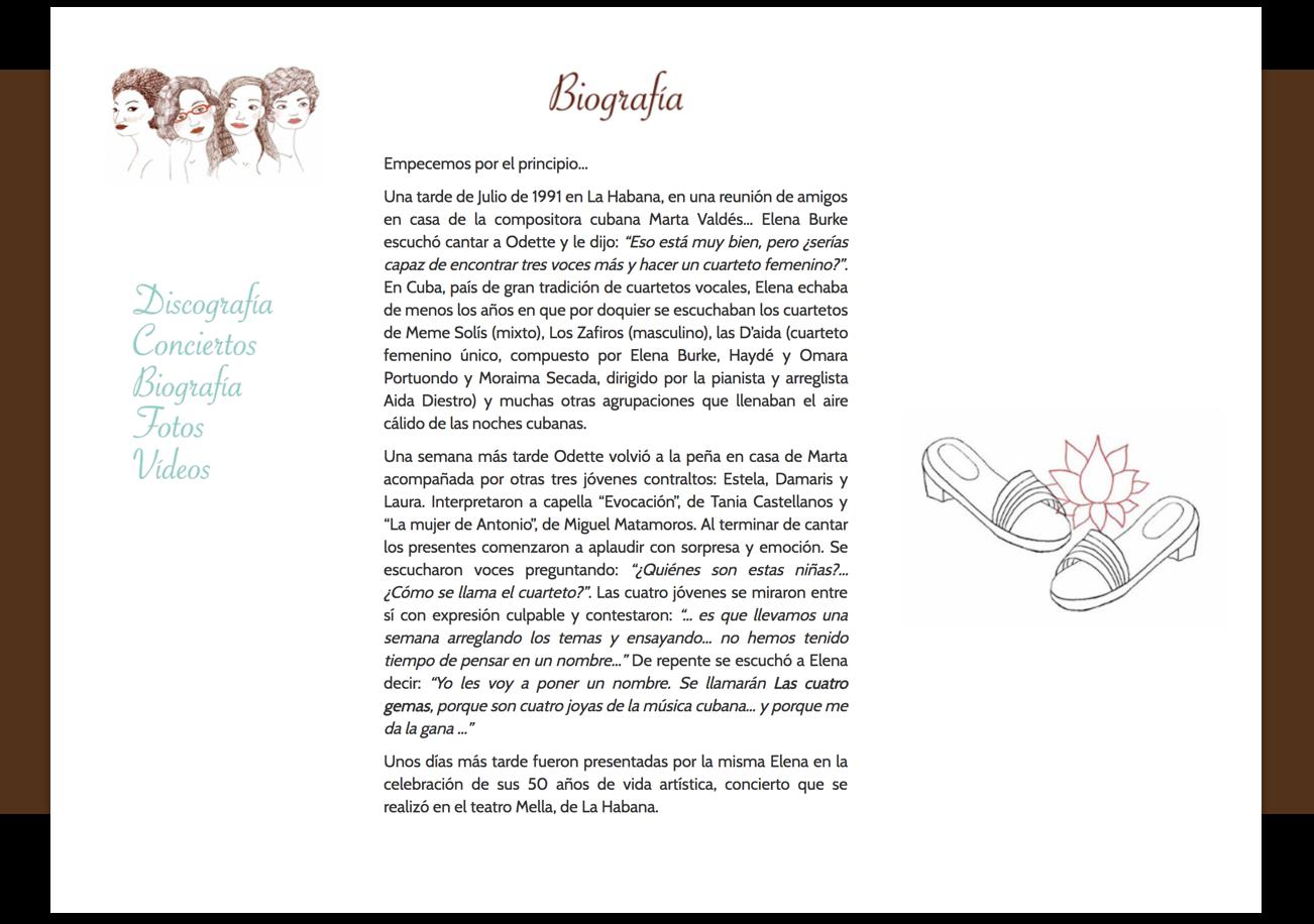 Gema 4 Biography – by Utopig Studio